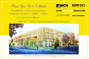 KIPP DC Smilow Campus Topping Out Party